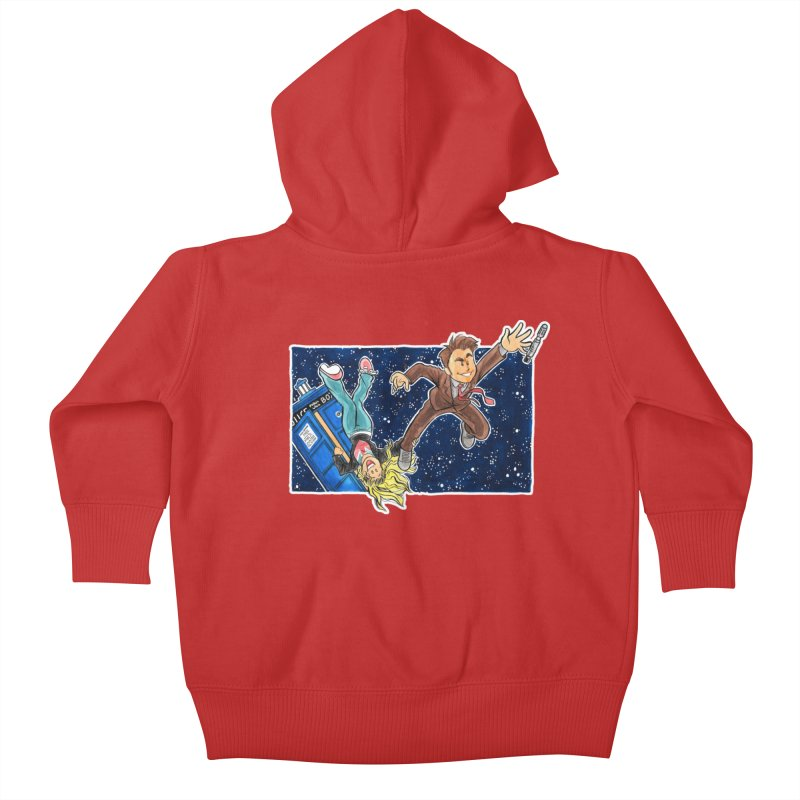 Tenth & Rose Kids Baby Zip-Up Hoody by AlePresser's Artist Shop
