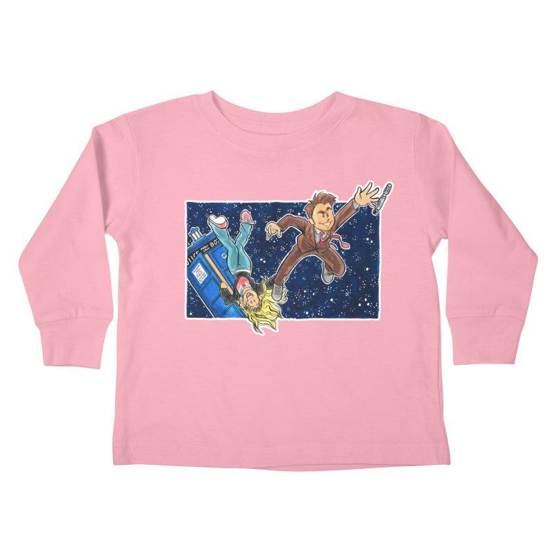 Tenth & Rose Kids Toddler Longsleeve T-Shirt by AlePresser's Artist Shop