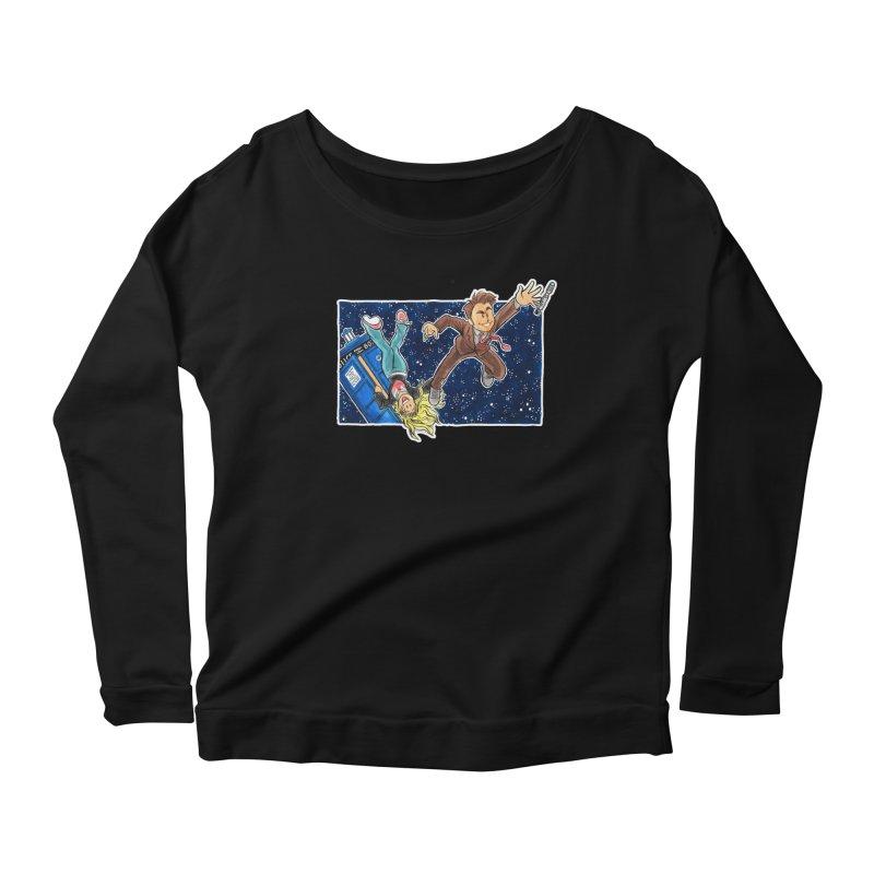 Tenth & Rose Women's Scoop Neck Longsleeve T-Shirt by AlePresser's Artist Shop