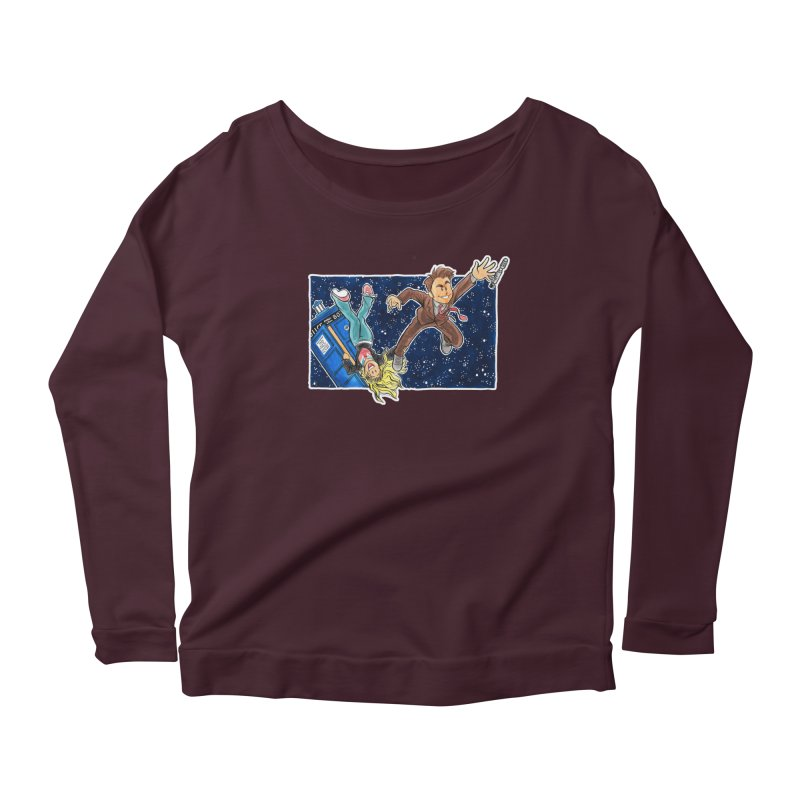 Tenth & Rose Women's Longsleeve Scoopneck  by AlePresser's Artist Shop