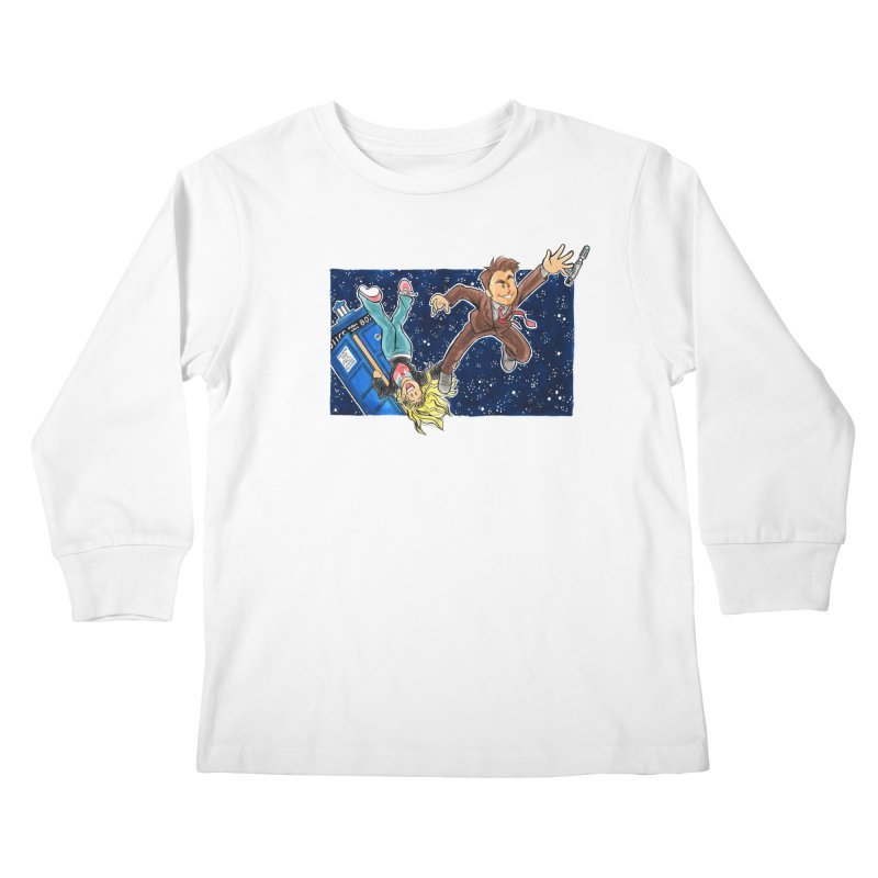 Tenth & Rose Kids Longsleeve T-Shirt by AlePresser's Artist Shop