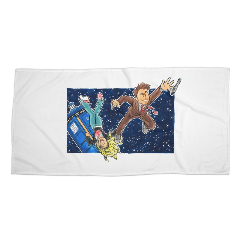 Tenth & Rose Accessories Beach Towel by AlePresser's Artist Shop
