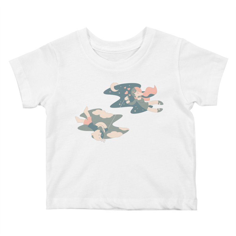 Connect Kids Baby T-Shirt by AlePresser's Artist Shop