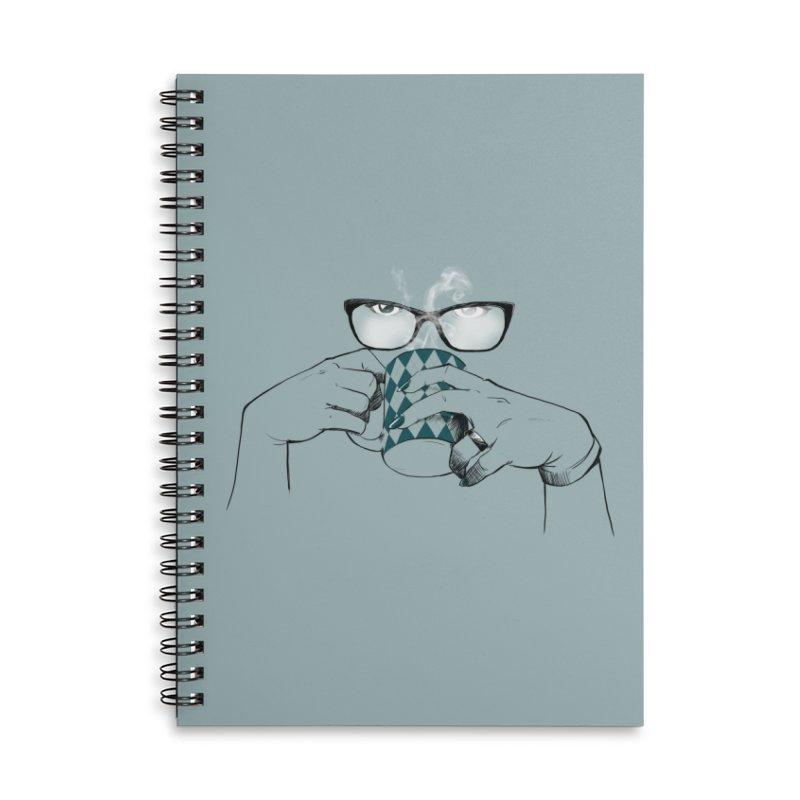 Steam Accessories Lined Spiral Notebook by AlePresser's Artist Shop