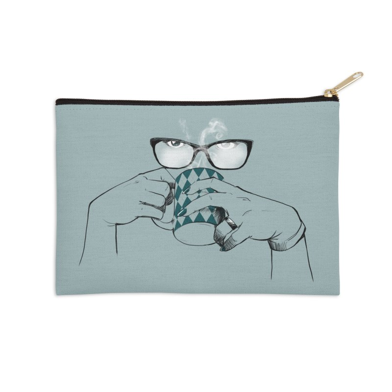 Steam Accessories Zip Pouch by AlePresser's Artist Shop