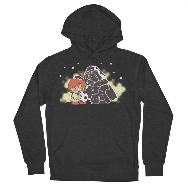 Cute Side of Force Men's French Terry Pullover Hoody by AlePresser's Artist Shop