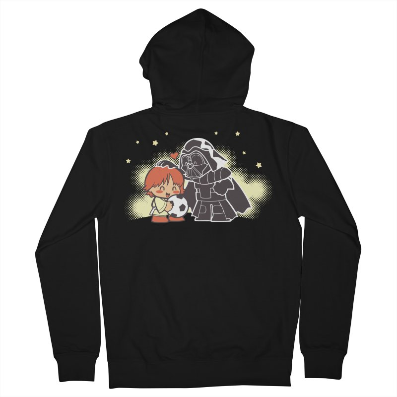 Cute Side of Force Men's French Terry Zip-Up Hoody by AlePresser's Artist Shop