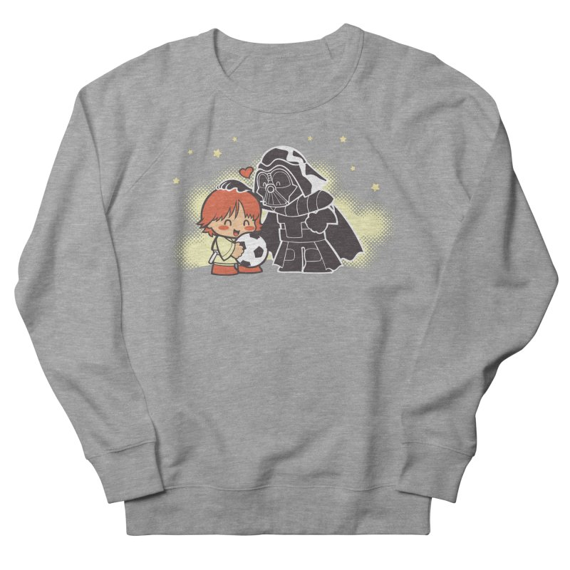 Cute Side of Force Men's French Terry Sweatshirt by AlePresser's Artist Shop