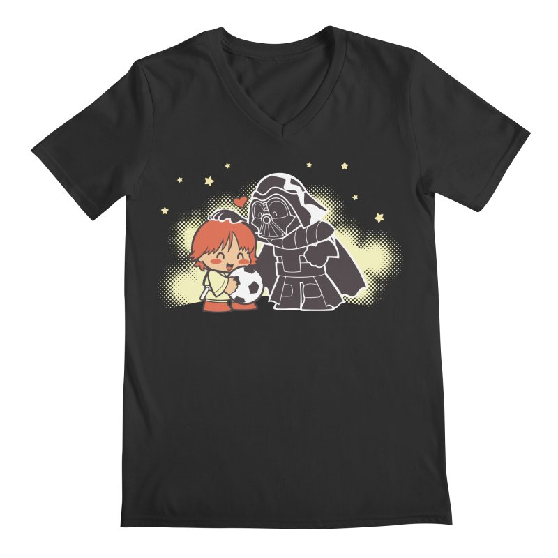 Cute Side of Force Men's V-Neck by AlePresser's Artist Shop