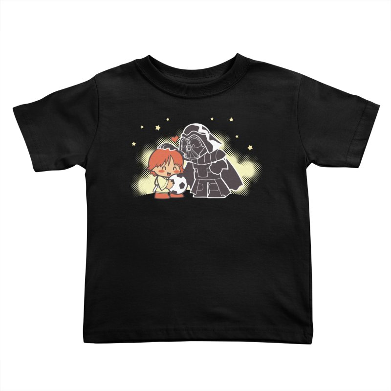 Cute Side of Force Kids Toddler T-Shirt by AlePresser's Artist Shop