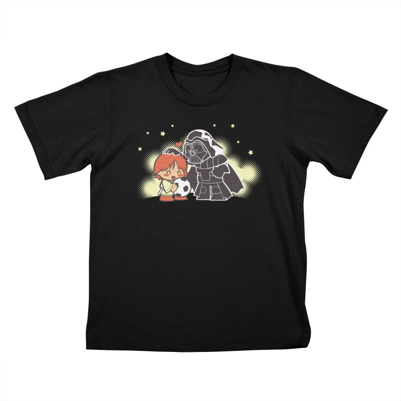 Cute Side of Force Kids T-Shirt by AlePresser's Artist Shop