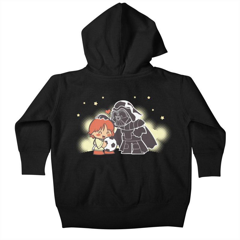 Cute Side of Force Kids Baby Zip-Up Hoody by AlePresser's Artist Shop