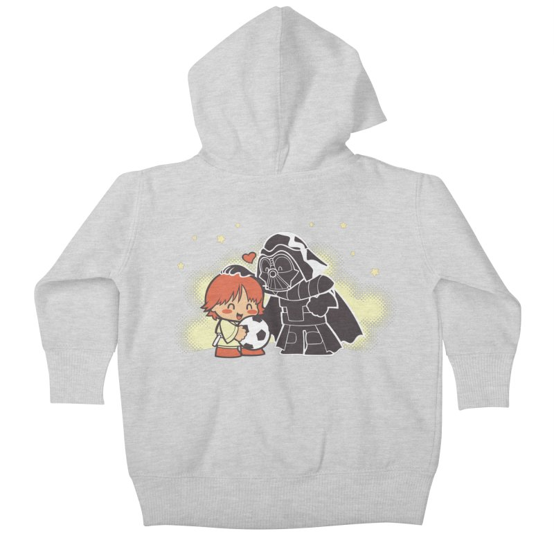 Cute Side of Force Kids Baby Zip-Up Hoody by AlePresser's Artist Shop