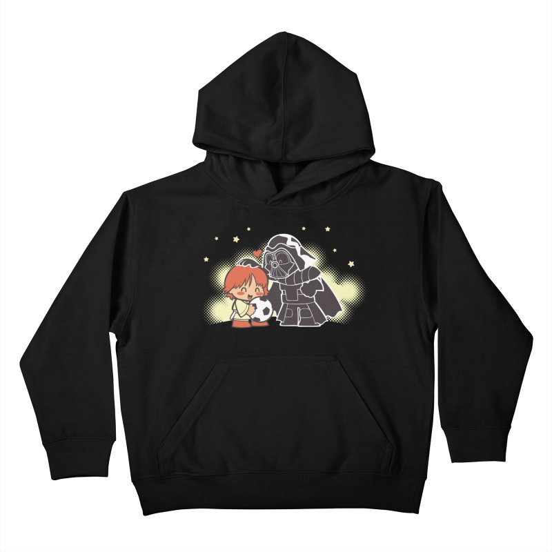 Cute Side of Force Kids Pullover Hoody by AlePresser's Artist Shop