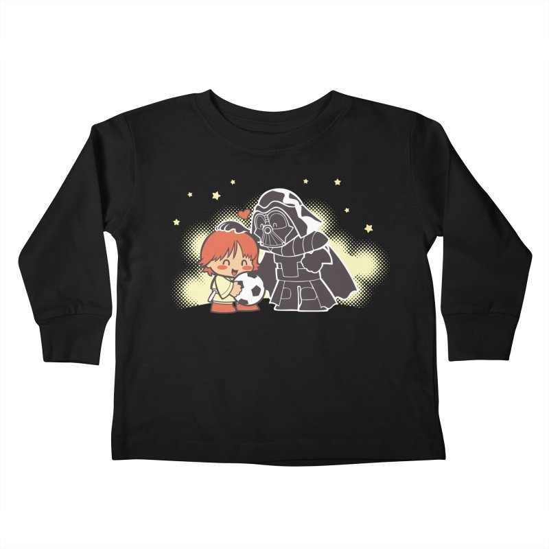 Cute Side of Force Kids Toddler Longsleeve T-Shirt by AlePresser's Artist Shop