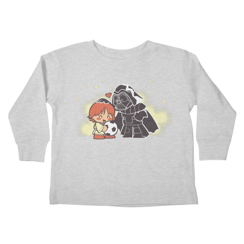 Cute Side of Force Kids Toddler Longsleeve T-Shirt by AlePresser's Artist Shop