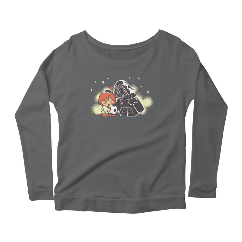 Cute Side of Force Women's Longsleeve Scoopneck  by AlePresser's Artist Shop