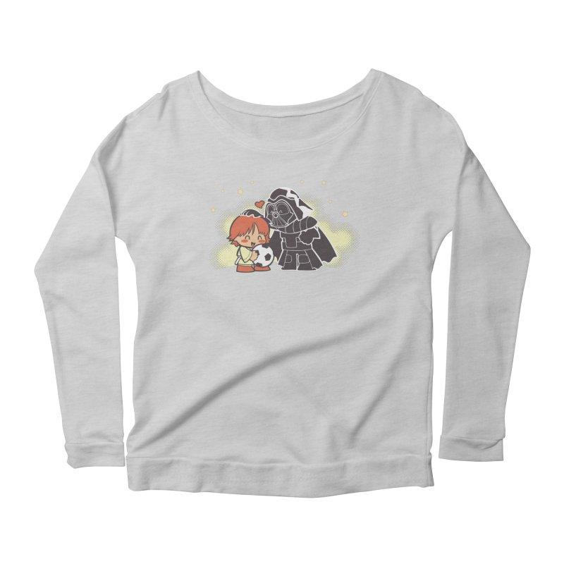 Cute Side of Force Women's Scoop Neck Longsleeve T-Shirt by AlePresser's Artist Shop