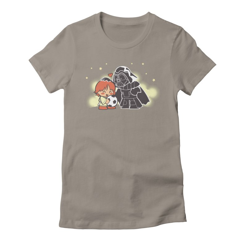 Cute Side of Force Women's Fitted T-Shirt by AlePresser's Artist Shop