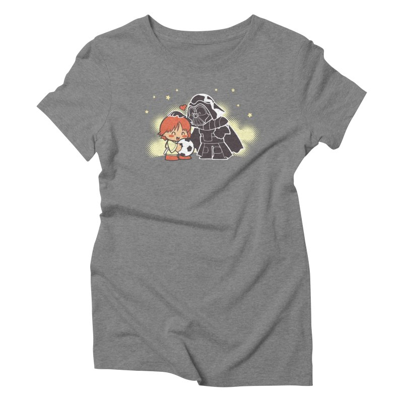 Cute Side of Force Women's Triblend T-Shirt by AlePresser's Artist Shop