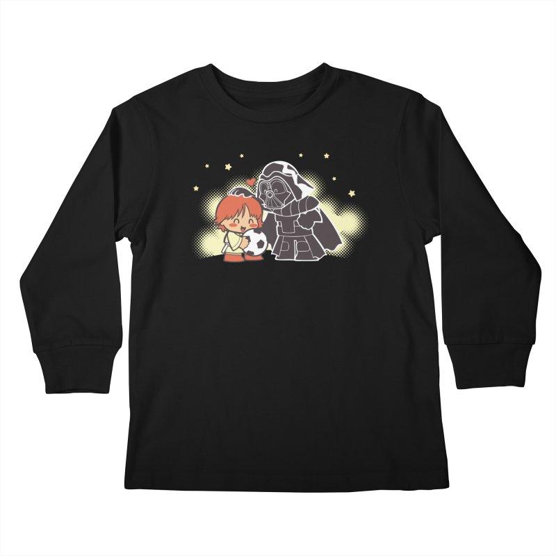 Cute Side of Force Kids Longsleeve T-Shirt by AlePresser's Artist Shop