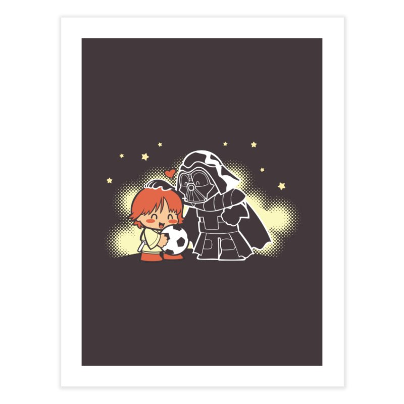Cute Side of Force Home Fine Art Print by AlePresser's Artist Shop