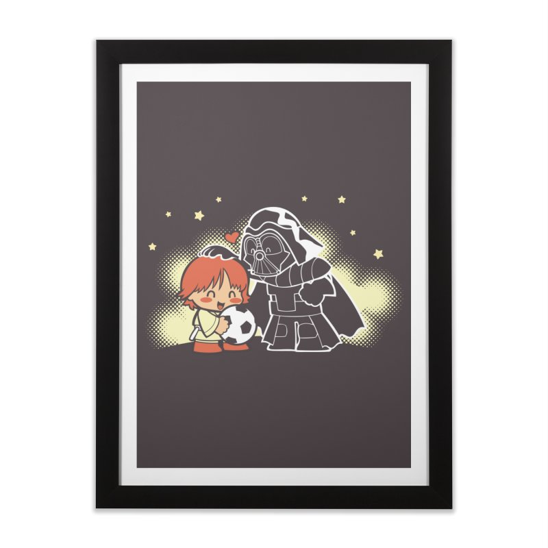 Cute Side of Force Home Framed Fine Art Print by AlePresser's Artist Shop