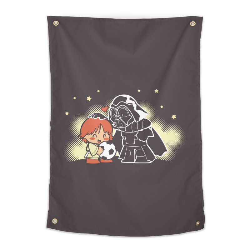 Cute Side of Force Home Tapestry by AlePresser's Artist Shop