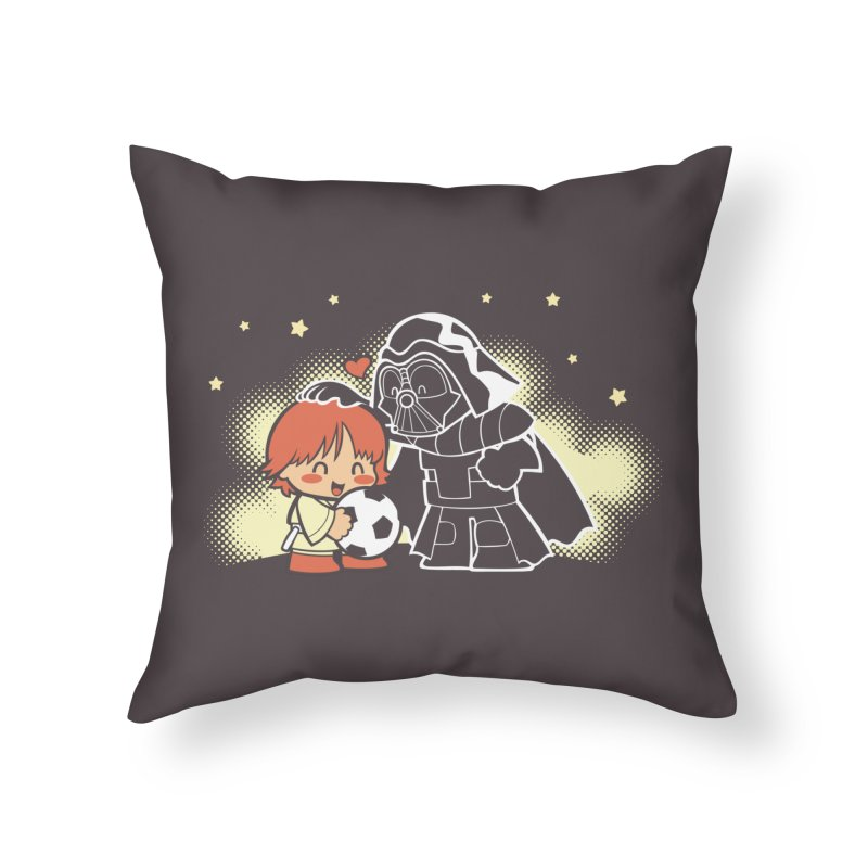 Cute Side of Force Home Throw Pillow by AlePresser's Artist Shop