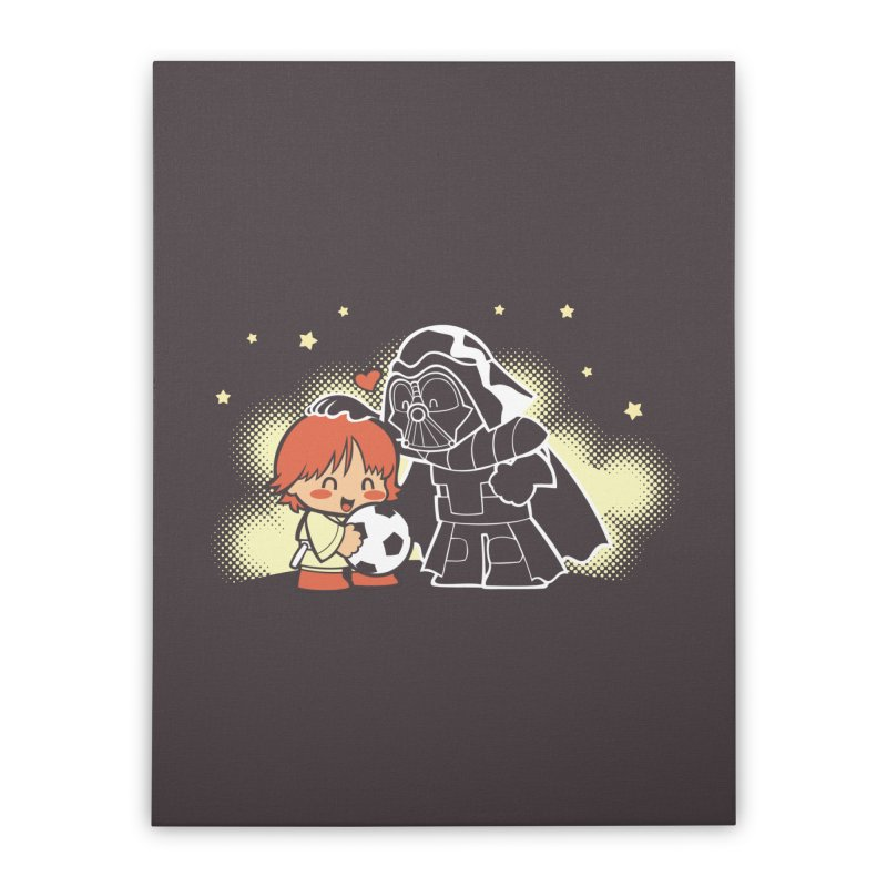 Cute Side of Force Home Stretched Canvas by AlePresser's Artist Shop