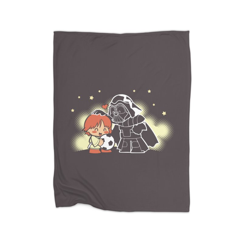 Cute Side of Force Home Blanket by AlePresser's Artist Shop