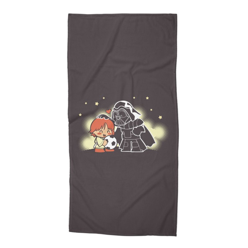 Cute Side of Force Accessories Beach Towel by AlePresser's Artist Shop