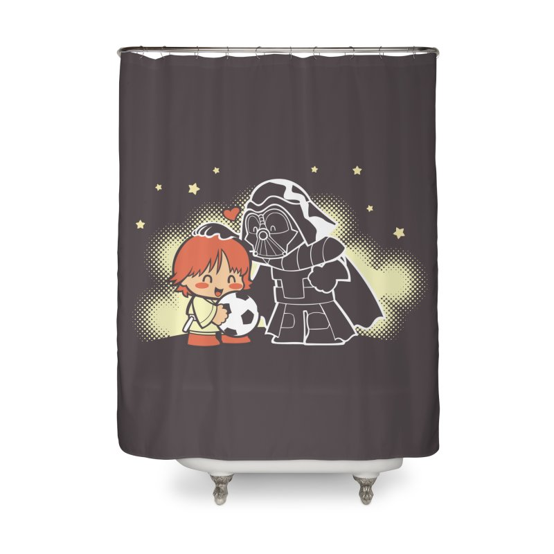 Cute Side of Force Home Shower Curtain by AlePresser's Artist Shop