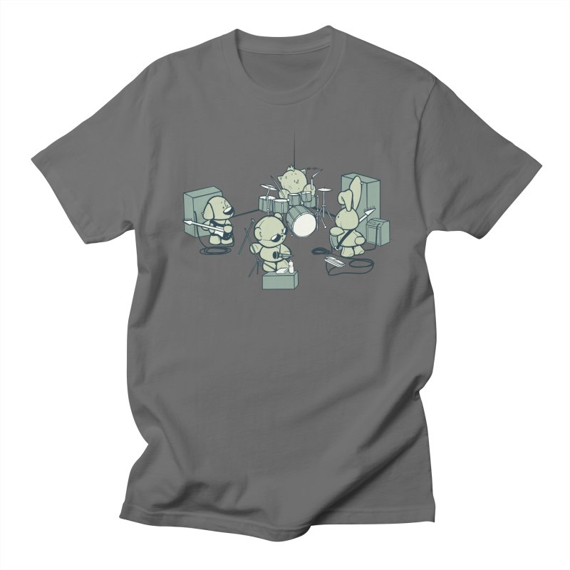 Teddy Band Men's Regular T-Shirt by AlePresser's Artist Shop