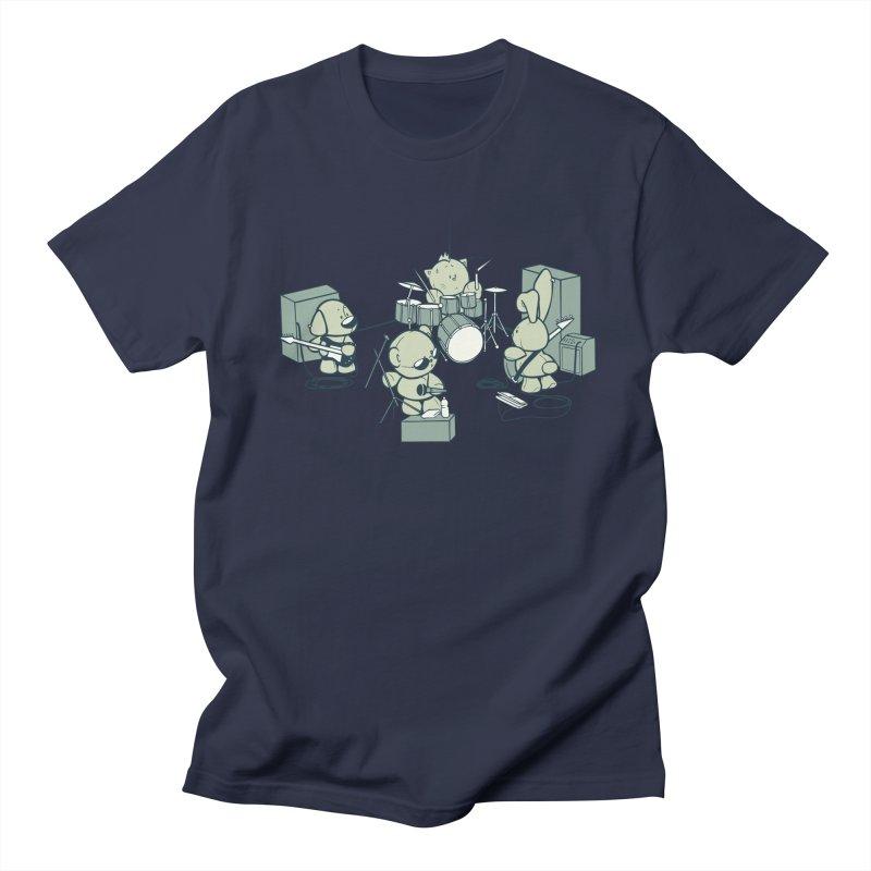 Teddy Band Men's T-Shirt by AlePresser's Artist Shop