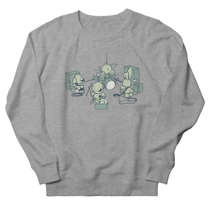 Teddy Band Women's Sweatshirt by AlePresser's Artist Shop