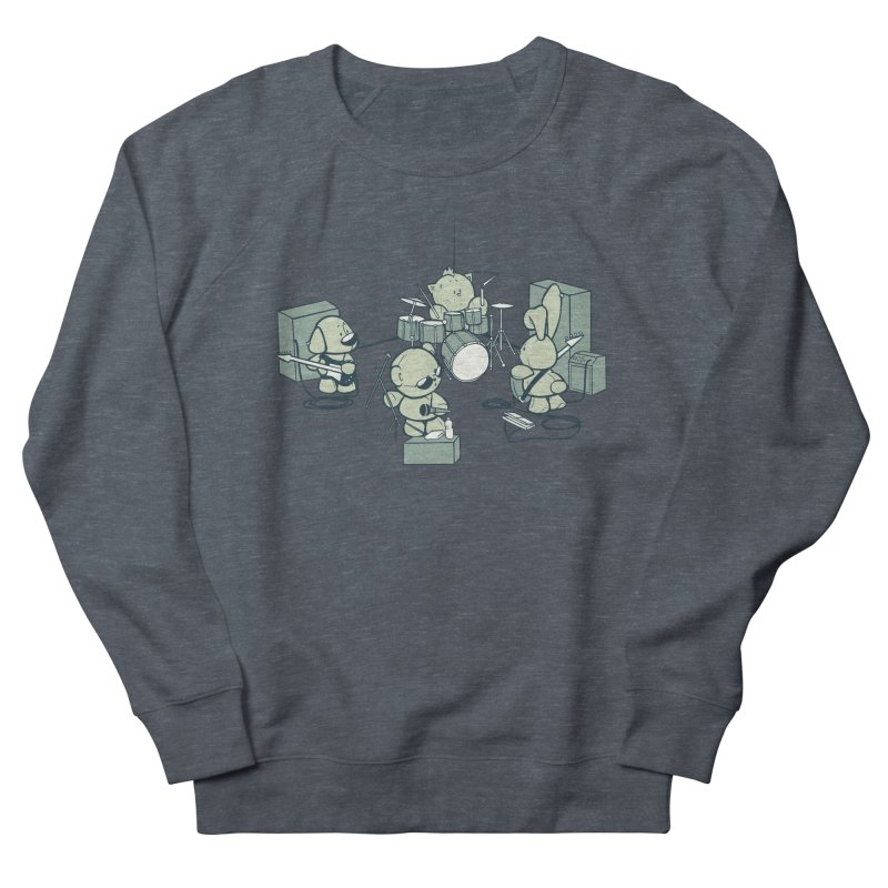 Teddy Band Men's Sweatshirt by AlePresser's Artist Shop