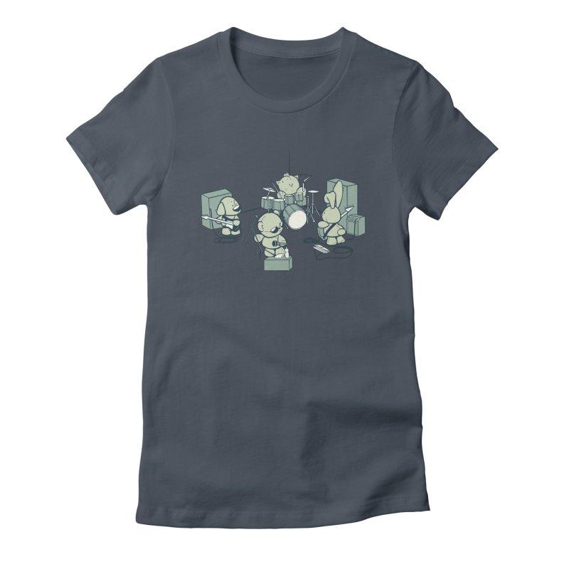 Teddy Band Women's T-Shirt by AlePresser's Artist Shop