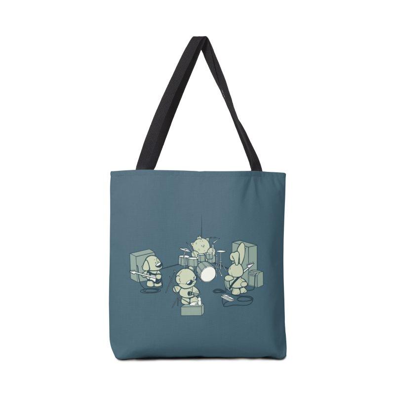 Teddy Band Accessories Bag by AlePresser's Artist Shop