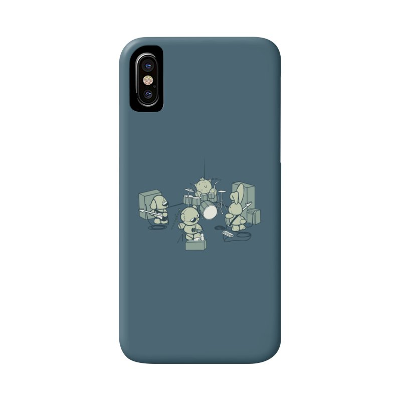 Teddy Band Accessories Phone Case by AlePresser's Artist Shop