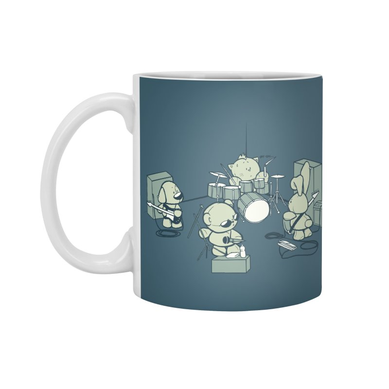 Teddy Band Accessories Mug by AlePresser's Artist Shop