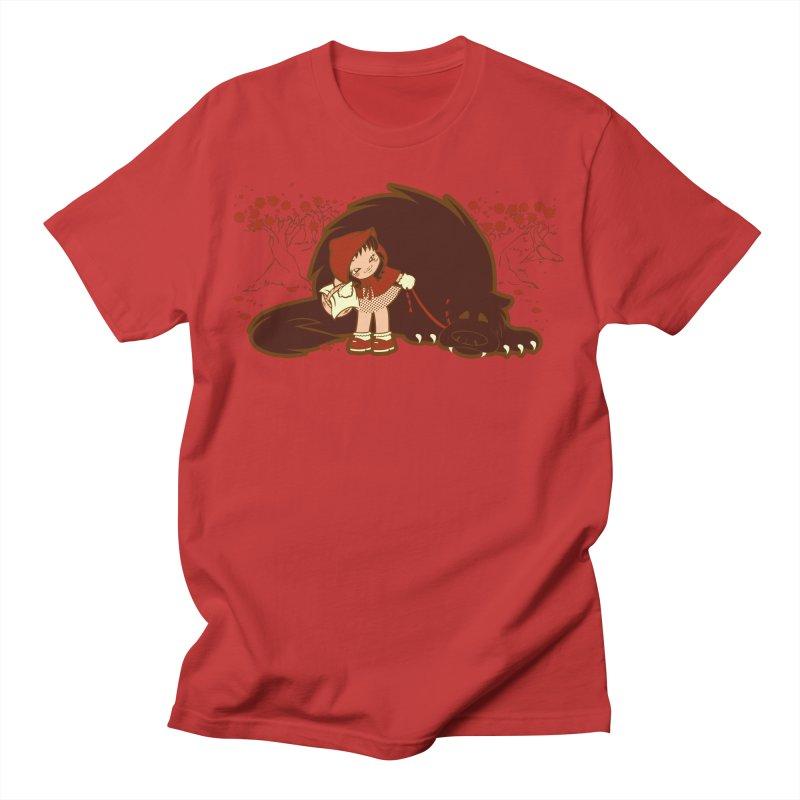 Bossy Red Riding Hood Men's T-Shirt by AlePresser's Artist Shop