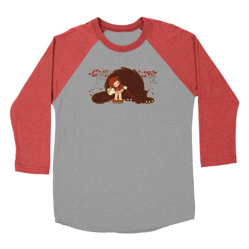 Bossy Red Riding Hood Men's Baseball Triblend Longsleeve T-Shirt by AlePresser's Artist Shop