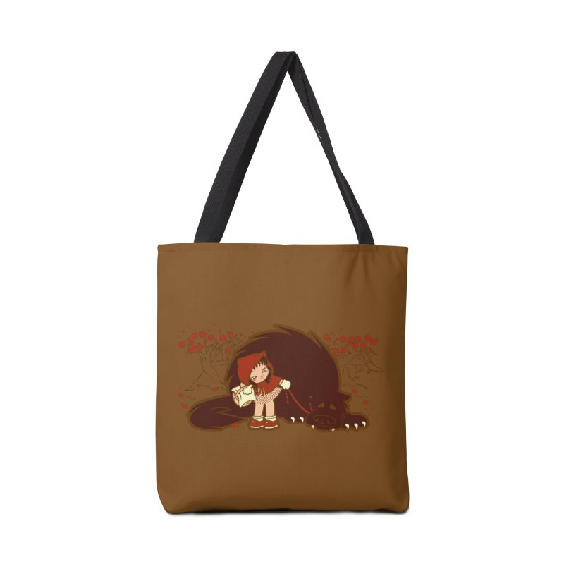 Bossy Red Riding Hood Accessories Bag by AlePresser's Artist Shop