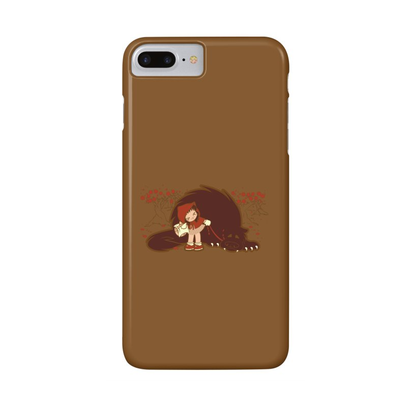 Bossy Red Riding Hood Accessories Phone Case by AlePresser's Artist Shop