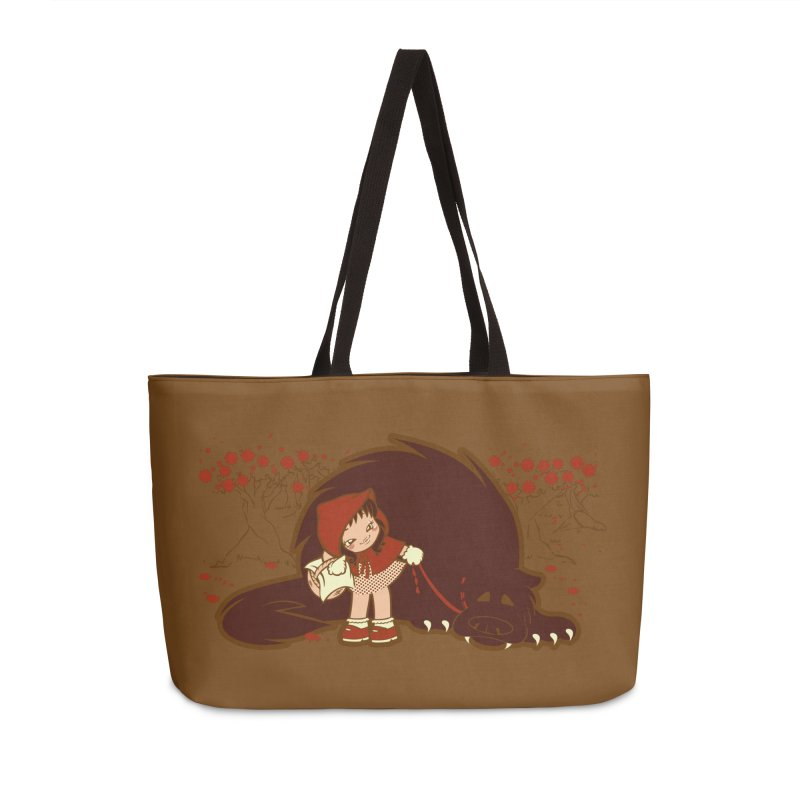 Bossy Red Riding Hood Accessories Weekender Bag Bag by AlePresser's Artist Shop