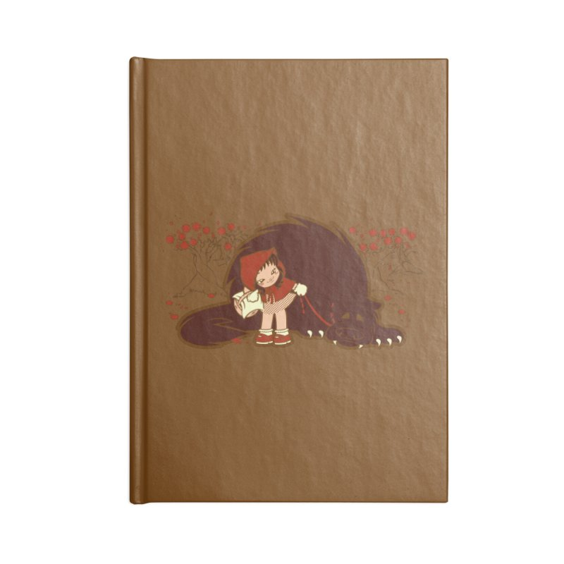 Bossy Red Riding Hood Accessories Notebook by AlePresser's Artist Shop