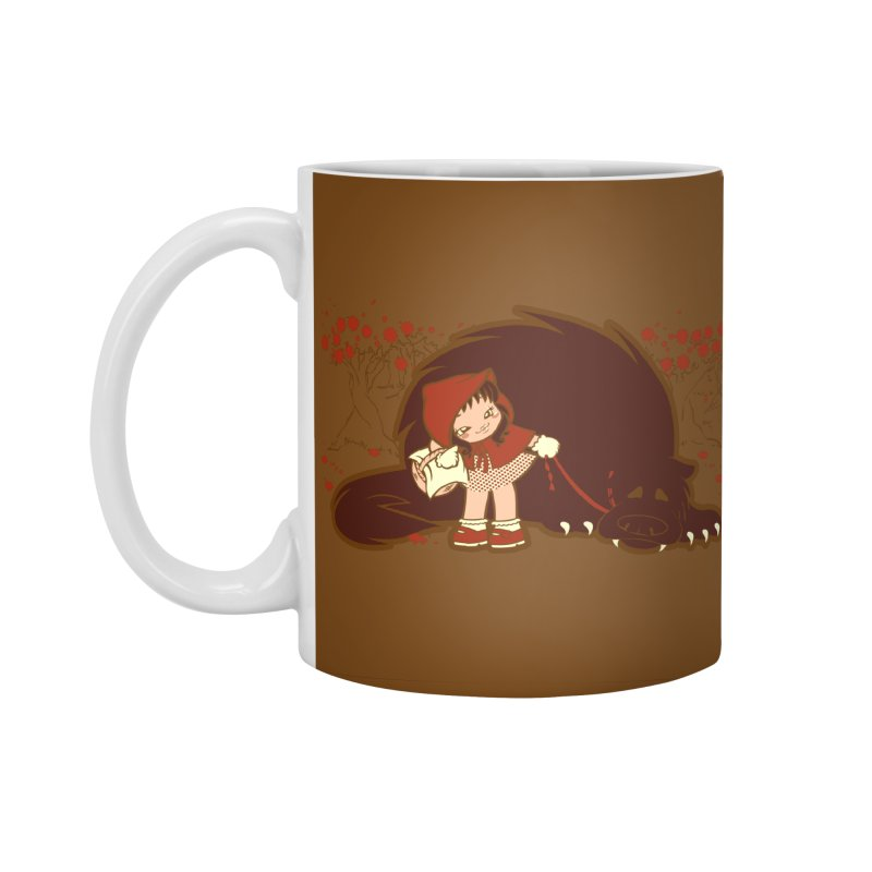 Bossy Red Riding Hood Accessories Standard Mug by AlePresser's Artist Shop