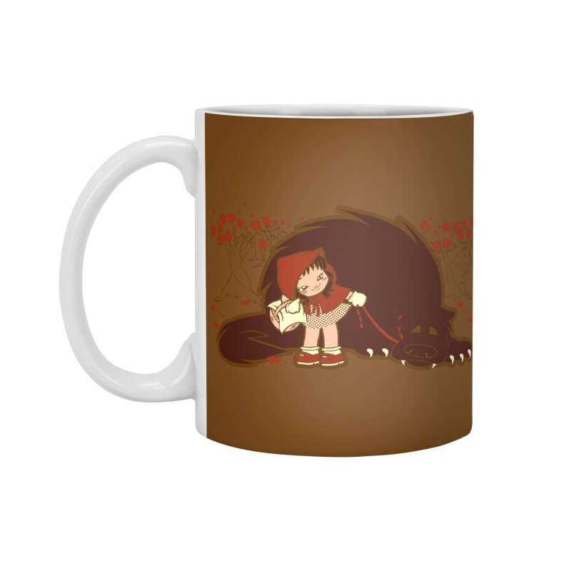 Bossy Red Riding Hood Accessories Mug by AlePresser's Artist Shop