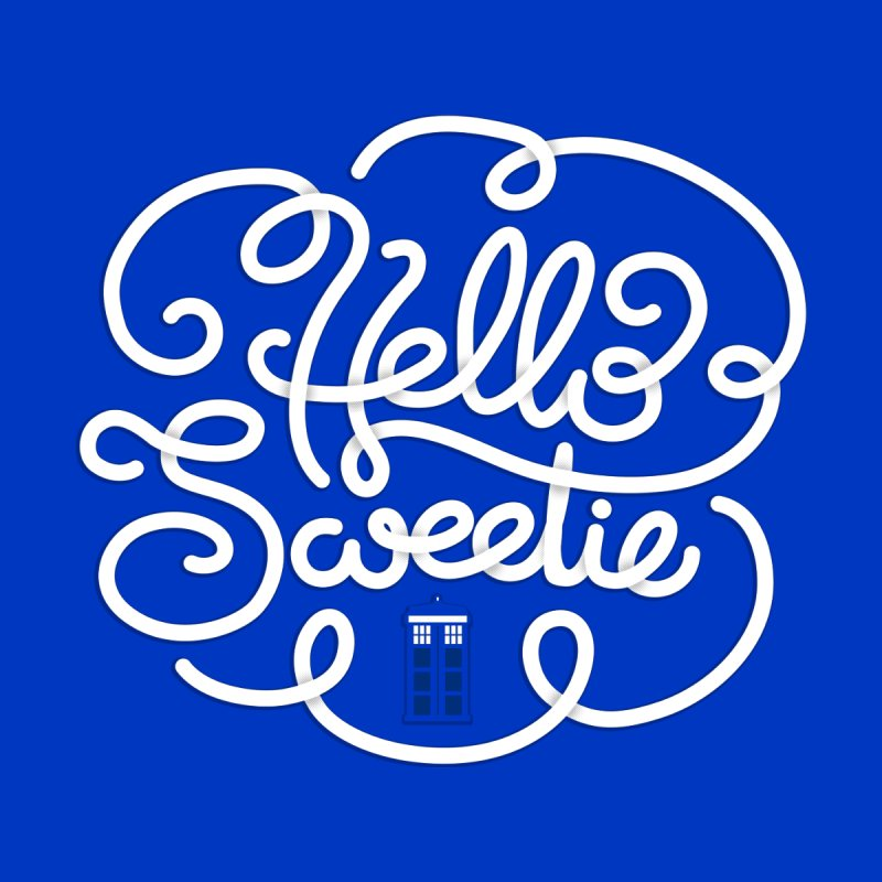 Hello Sweetie Men's T-Shirt by AlePresser's Artist Shop